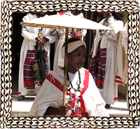 Ethiopian traditional costume